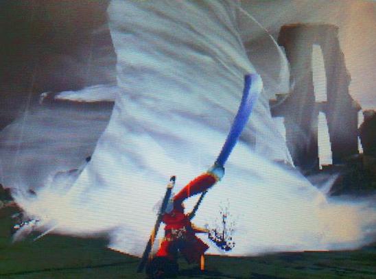 【モンハン写真】「喰らえ!風の・・・」【カレン様投稿】