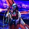 【見た目装備・女】操虫棍:ペダンマデュラ用装備、『ラーを狩る漆黒の女剣士』!【夕鈴様投稿】