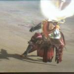 【見た目装備・女】眼帯とフロギィ・GXミラバルが似合う、砂漠を生きる『眼帯の決闘士』【もち米様投稿】