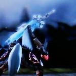 【見た目装備・女】人外なパーツが特徴の『蘇った獄龍姫』【七色ナイフ様投稿】