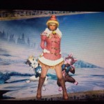 MHX見た目装備・女 組み合わせが可愛い、『☆メリークリスマス☆』【rin様投稿】