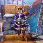 MHX見た目装備・女|紫の統一感が特徴のエリアル毒武器装備、『毒々の妖精』【れっさん様投稿】