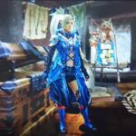 MHX見た目装備・女 統一感が綺麗な、『アスリスタスーツの双剣使い』【KuroRagi様投稿】