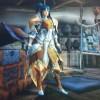 MHX見た目装備・女 お気に入りの武器にカラーリングを合わせて!『北風の騎士』【しゅが様投稿】