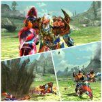 MHX見た目装備・男|武器のギミックも活かした赤と青の組み合わせが見事!『紅の青騎士』【ムラカミアキラ様投稿】